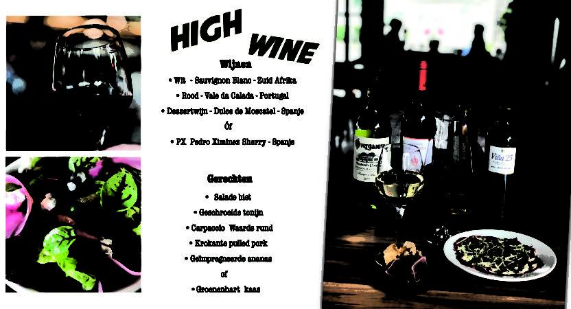 High Wine vanaf 2 personen