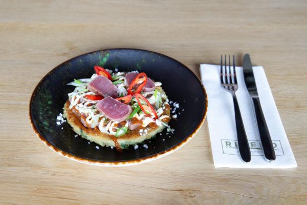 afhaal gerechten okonomyaki tonijn