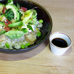 Poké bowl vega